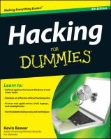 Image: Hacking for Dummies