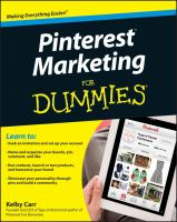 Pinterest Marketing for Dummies