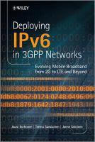 Deploying IPv6 in 3GPP Networks