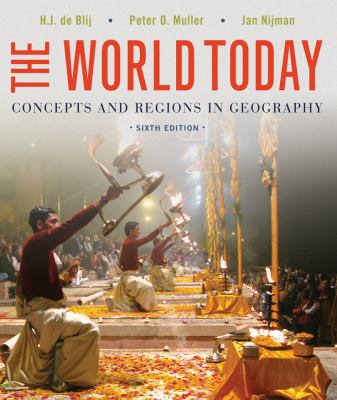 "Picture of book cover for ""The World Today: Concepts and Regions in Geography"""