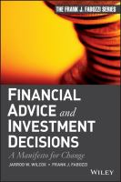 Financial Advice and Investment Decisions