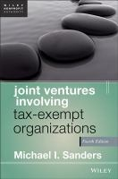 Joint Ventures Involving Tax-exempt Organizations