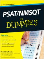 PSAT/NMSQT for Dummies [electronic Resource]