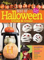 Halloween Tricks & Treats