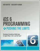 IOS 6 Programming
