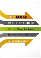 Agile Pocket Guide