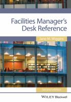 Facilities Managers Desk Reference