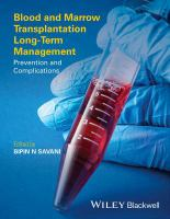 Blood and Marrow Transplantation Long-term Management