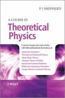 A Course in Theoretical Physics