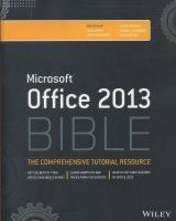 Microsoft Office 2013 Bible