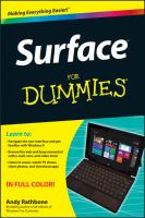 Surface for Dummies