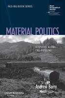 Material Politics