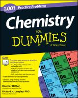 1001 Chemistry Practice Problems for Dummies