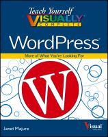 Teach Yourself Visually Complete WordPress
