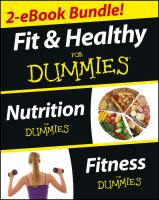 Fit & Healthy for Dummies