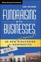 Fundraising With Businesses