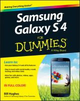 Samsung Galaxy S4 for Dummies
