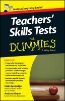 Teachers' Skills Tests for Dummies