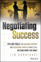 Negotiating Success