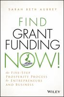 Find Grant Funding Now!