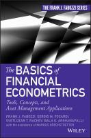 Basics of Financial Econometrics