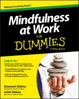 Image: Mindfulness at Work for Dummies