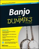 Banjo for Dummies®