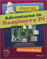 Adventures In Raspberry Pi *