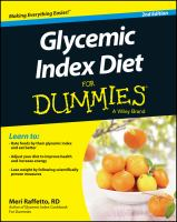 Glycemic Index Diet for Dummies