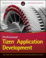 Professional Tizen Application Development