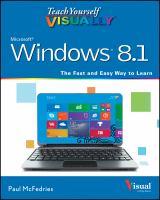 Teach Yourself Visually Windows 8.1