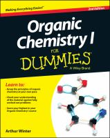 Organic Chemistry 1 for Dummies