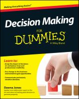 Decision-making for Dummies