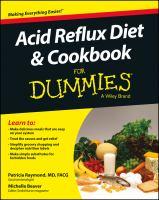 Acid Reflux Diet & Cookbook for Dummies