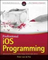 Professional IOS Programming