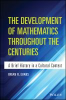 The Development of Mathematics Throughout the Centuries