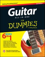 Guitar All-in-one for Dummies, [2014]