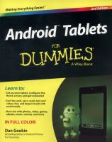 Android Tablets for Dummies®