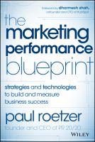 The Marketing Performance Blueprint
