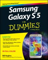 Samsung Galaxy S 5 for Dummies