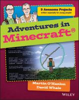 Adventures in Minecraft