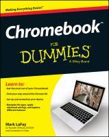 Chromebook for Dummies