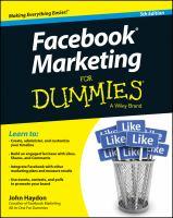 Facebook Marketing for Dummies