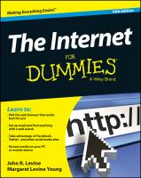 Image: The Internet for Dummies