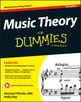 Music Theory for Dummies®