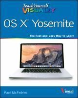Teach Yourself Visually OS X Yosemite