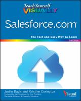 Teach Yourself Visually Salesforce.com