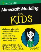 Minecraft Modding for Kids for Dummies
