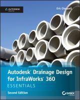 Autodesk Drainage Design for InfraWorks 360 Essentials