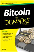 Image: Bitcoin for Dummies®